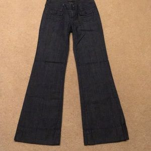 Lucky Brand wide leg jeans